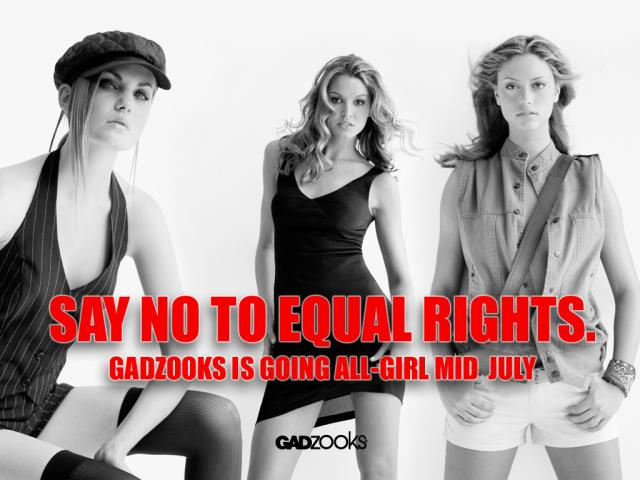 So No To Equal Rights?