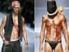 John Galliano's men's autumn/winter 2008-2009 fashion collection.