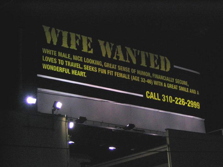 wifewantedbillboard