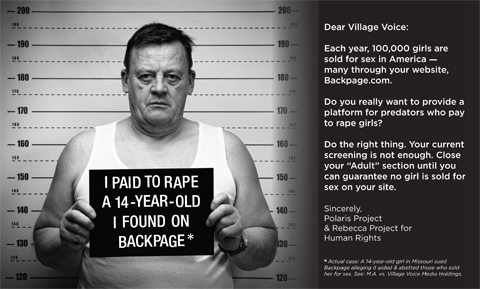 Sex Slave Outrage
