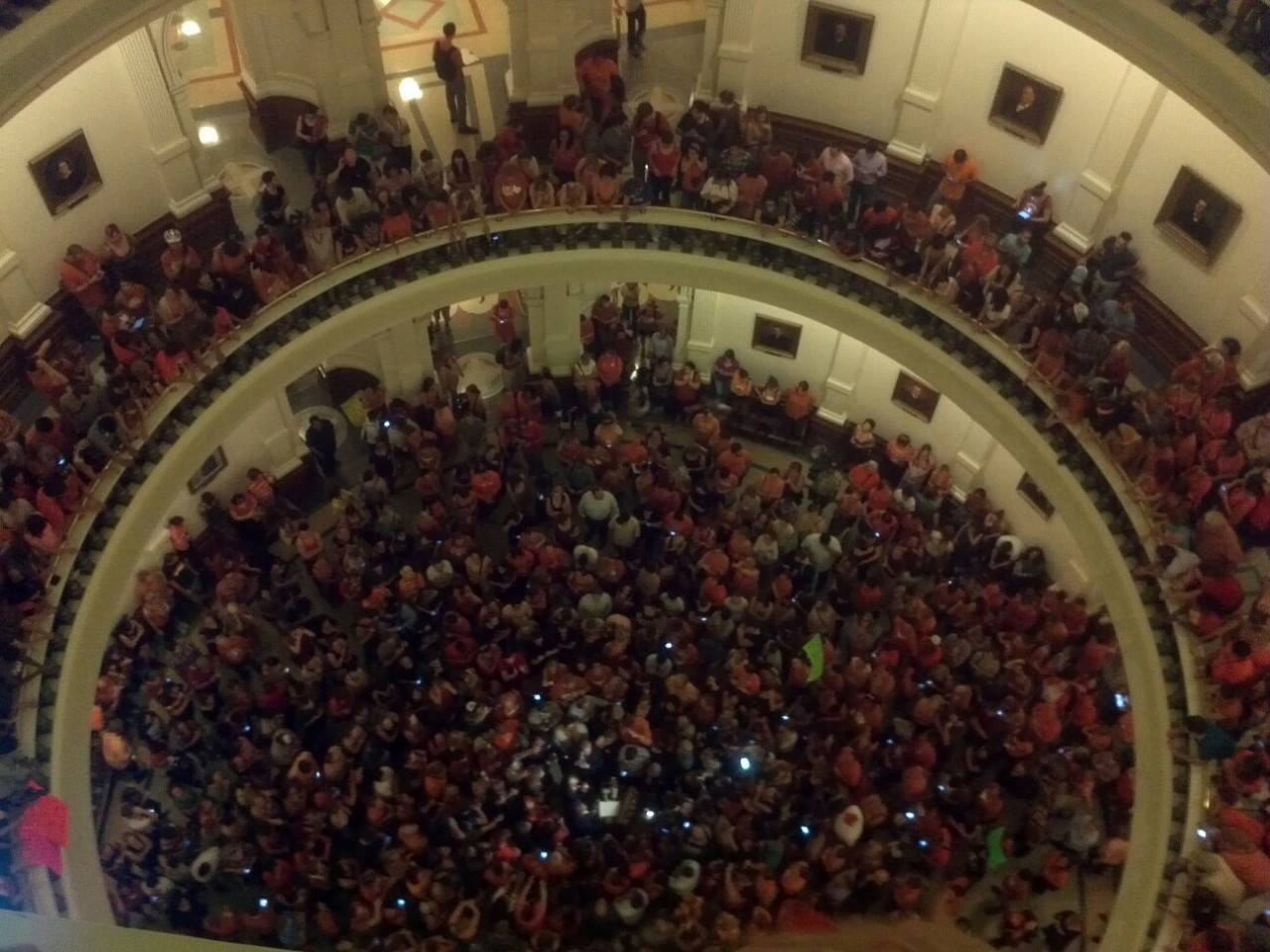 A Personal Account of the 6/25 Texas Filibuster